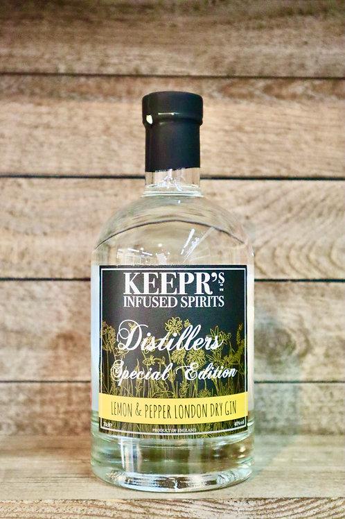 Keepr's Lemon & Pepper Gin
