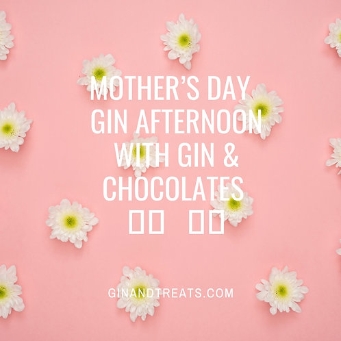 Mothers Day Virtual Gin Tasting  14th March