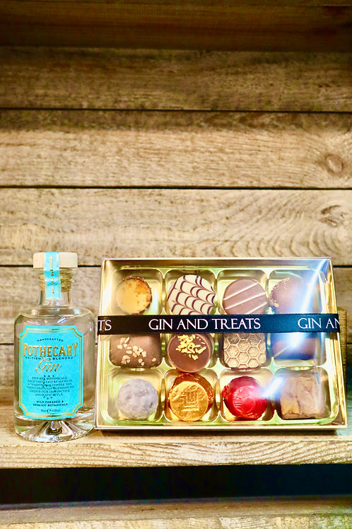 Gin & Chocolate Gift box