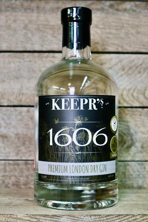 Keepr's London Dry Gin
