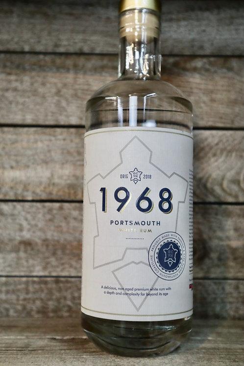 Portsmouth Distillery 1968  White Rum