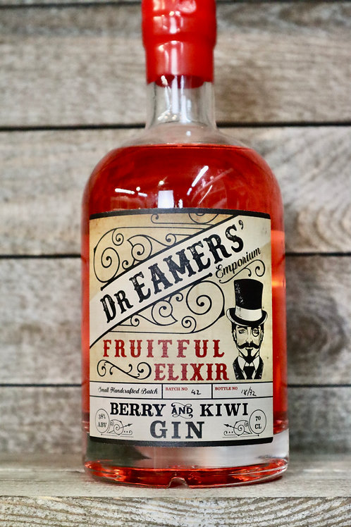Dr Eamers Berry & Kiwi Gin