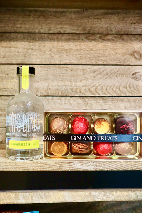 Lemongrass Gin & Chocolate Gift Box