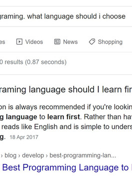 Is Python actually the best programing language to start out with.