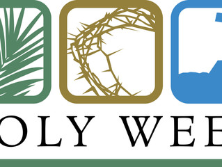 Holy Week/Easter Events