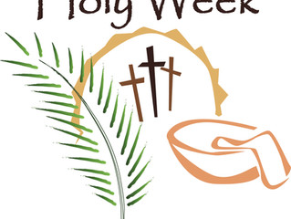Church Preparation for Holy Week.