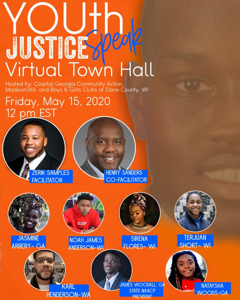 YOUth Speak Justice Town Hall