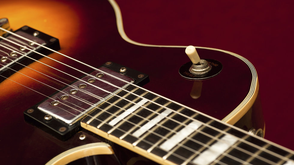 Personal Lessons | Electric Guitar