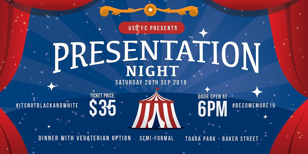 USQ FC Presentation Night 2019
