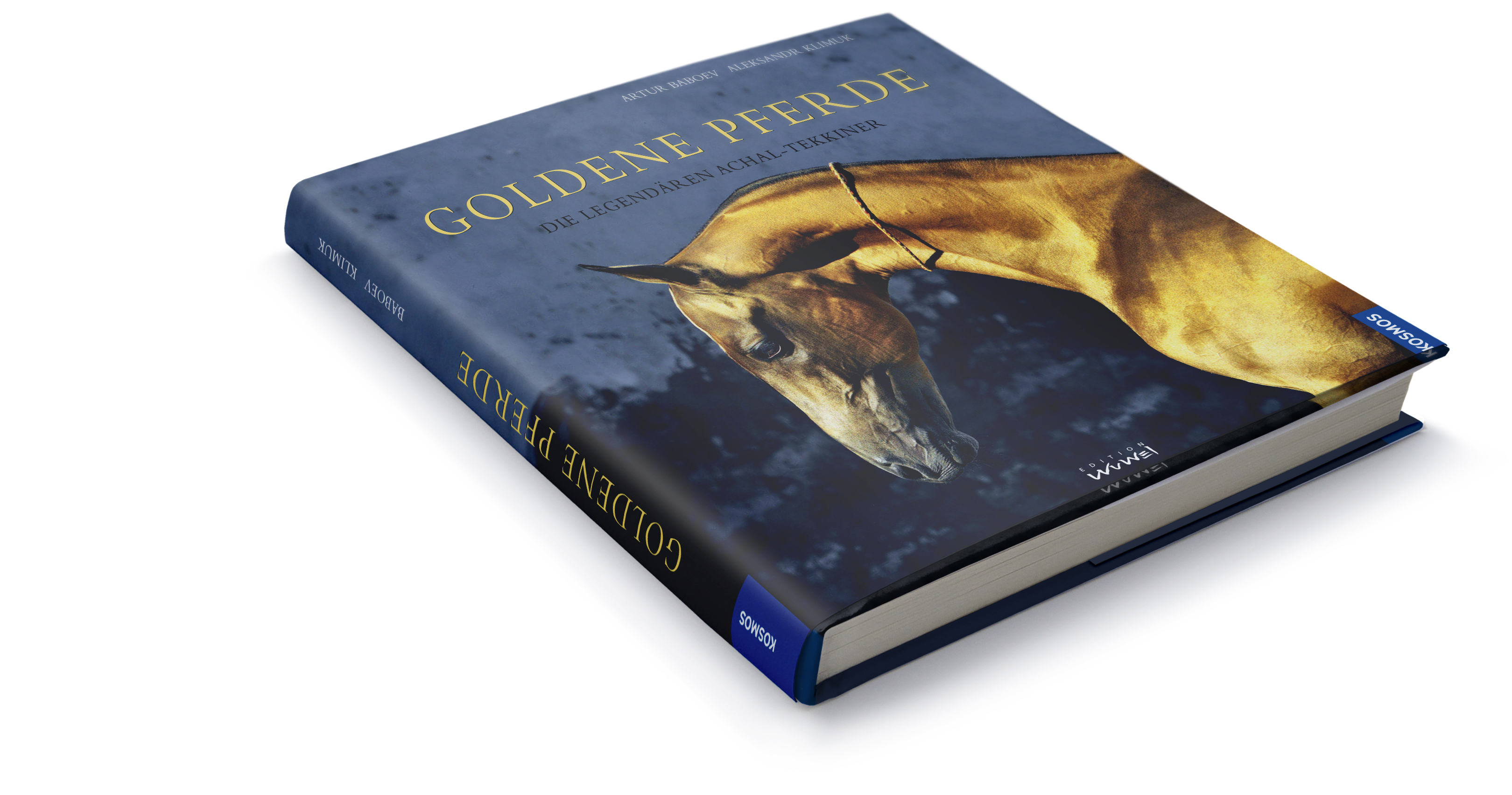 Book. Golden Pferde. German edition