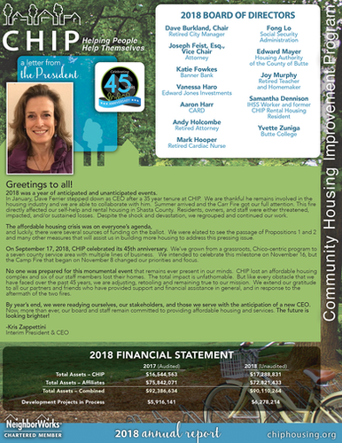 2018 CHIP Annual Report (p.2)