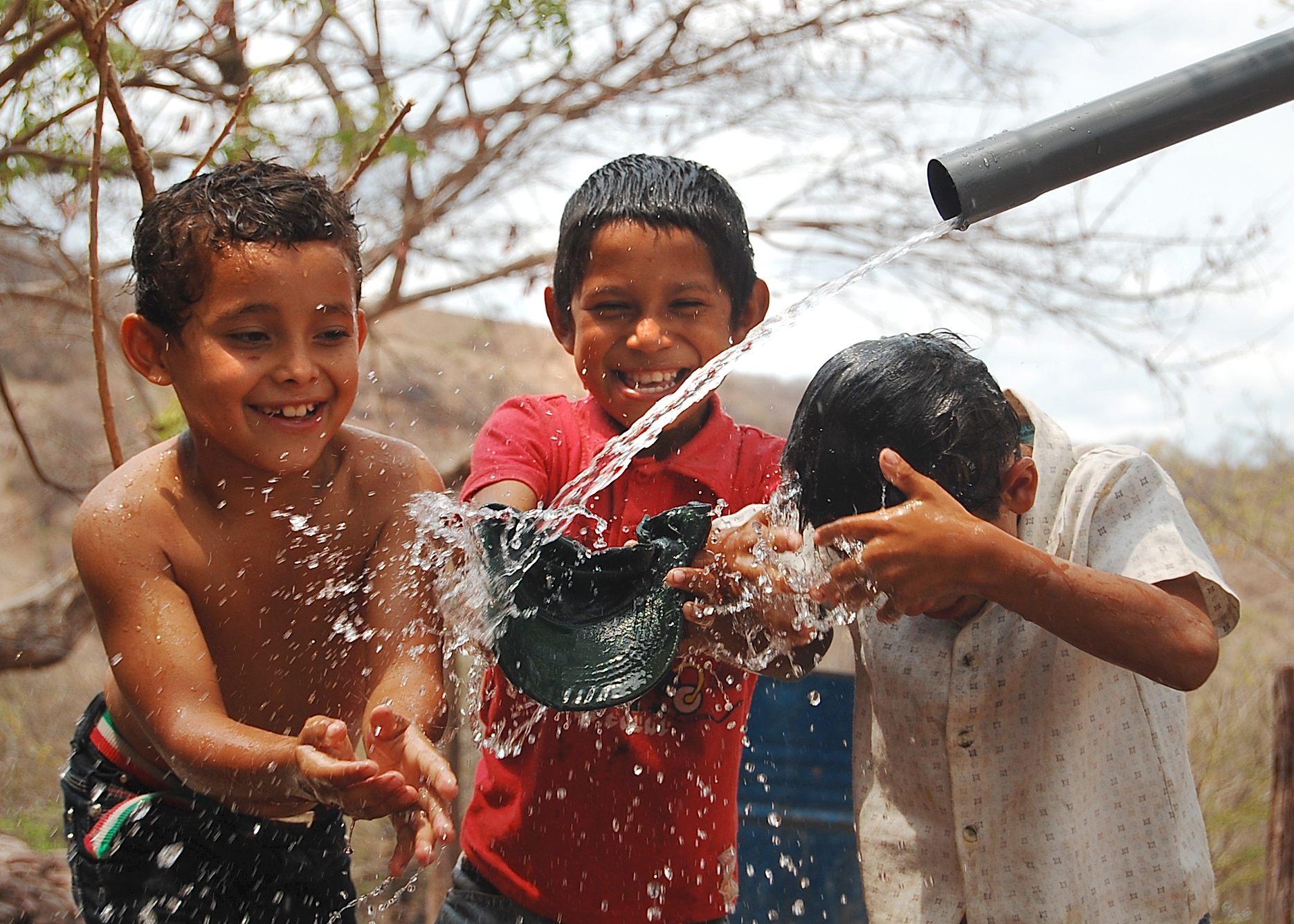 Clean water project Nicaragua