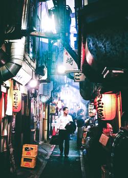 Yokocho Alleys - Tokyo