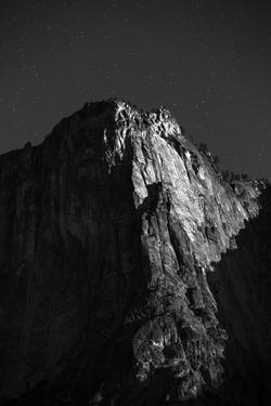 Full Moon On Yosemite Valley