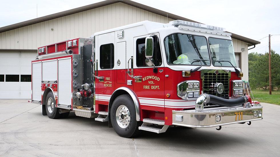 Redwood Fire Dept. Engine 711