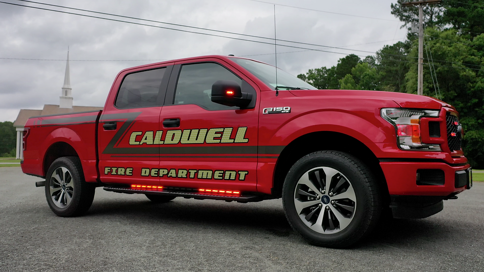 Caldwell Fire Dept, Chief Vehicle