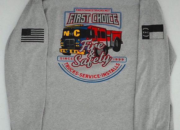 NC Fire T-Shirt | Long Sleeve