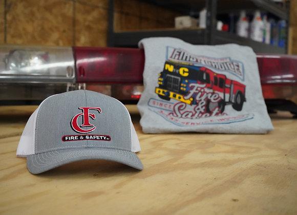 Grey/White FC Trucker Hat