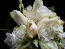 Tulips, Roses, Freesias & Crystals