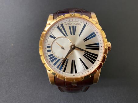 高知 時計修理|ロジェ デュブイ|時計オーバーホール