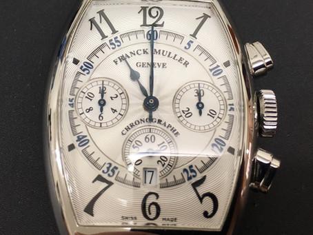 時計修理/フランク ミュラー/クロノグラフ オーバーホール