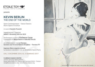 "Kevin Berlin | ""The End of the World"" Exhibition"