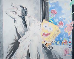 "Kevin Berlin: ""Sponge Bob Ballerina""    Barton G.   Solo Show     November 25 - December 31"