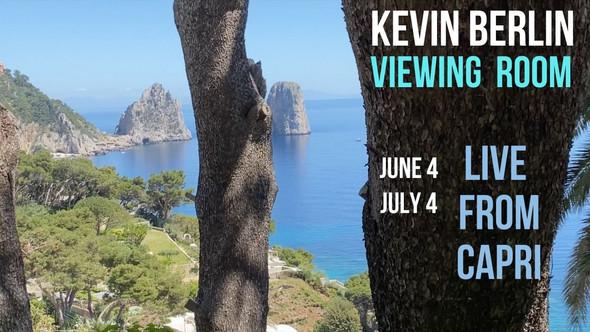 """Kevin Berlin / """"Capri Viewing Room"""" Trailer"""