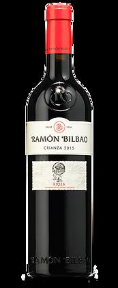 Vino tempranillo Ramón Bilbao Crianza - 750ml