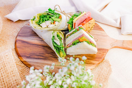 Provin Group, Corporate catering, Sydney Catering, Healthy Catering, Lunch Catering, Healthy Wrap, Triangle Sandwhich, Bavarian Roll, Farm to table