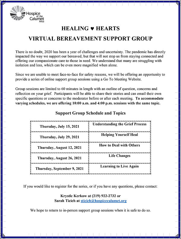Virtual Bereavement Support Group schedule July 15th 2021.jpg