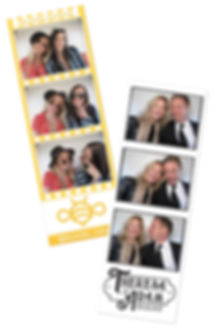 photo booth strips, Toronto Wedding
