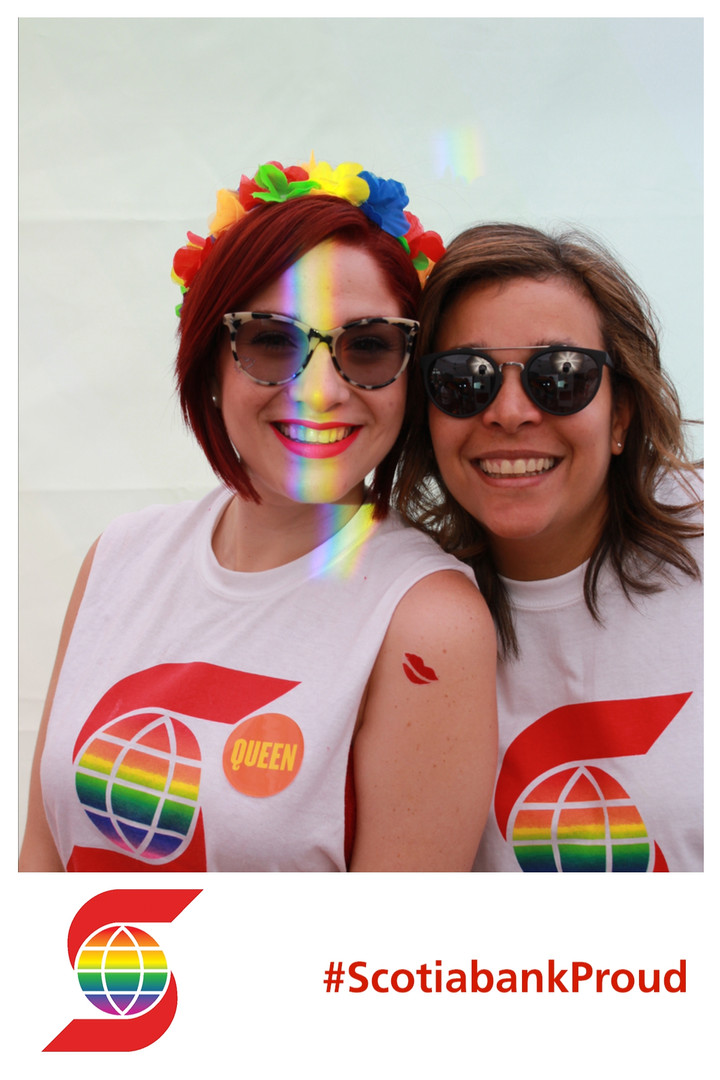 Experential Marketing, Photo Booth at Pride,Toronto