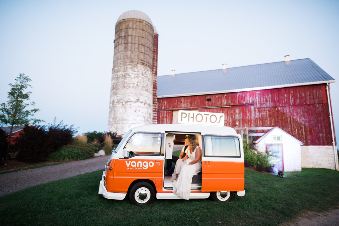 Barn Wedding Photo Booth in Toronto