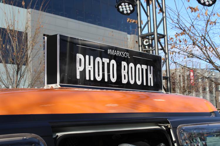 Custom Branding, Photo Booth Bus, Toronto