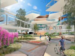 Render Terrazas y Plaza Corporativo