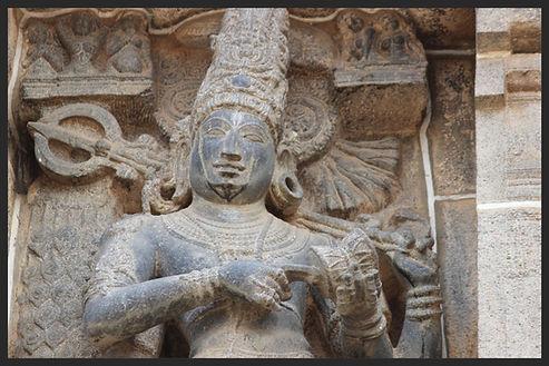 Shiva Nataraja, temple Brihadishvara de Thanjavur