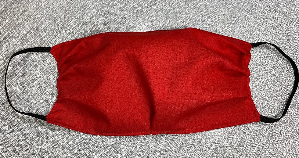 6 Pack of Scarlet Red Face Masks