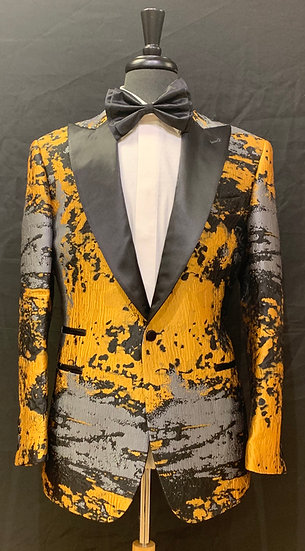 Earth Pattern Formal Jacket