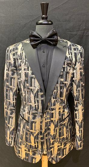 Single Breasted Peak Lapel Formal Jacket