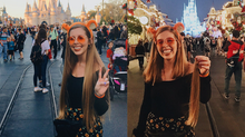 I Cut off 14 Inches of Hair at the Magic Kingdom (Donation)