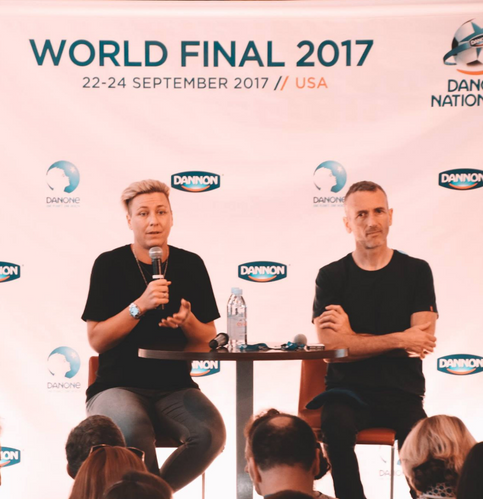 Danone Nations Cup 2017 - Abby Wambach & DNCE