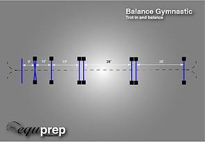 Balance Gymnastic Exercise Example 3
