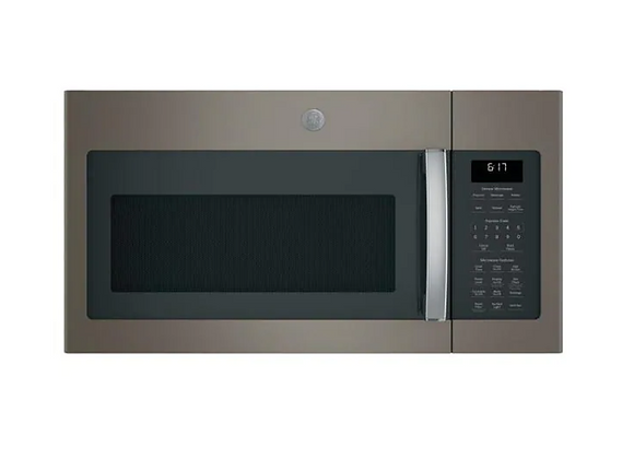 GE 1.7 cu. ft. Over the Range Microwave with Sensor Cooking in Slate