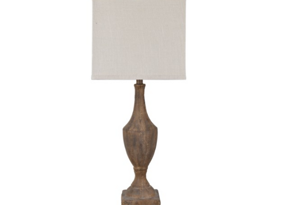 Crestview Rustic Finial Table Lamps
