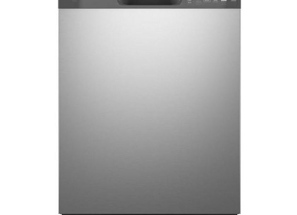 GE 55 in. dBA in Stainless Steel Front Control Built-In Dishwasher