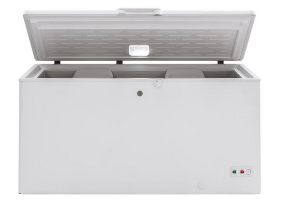GE Garage Ready 15.7 cu. ft. Manual Defrost Chest Freezer in White