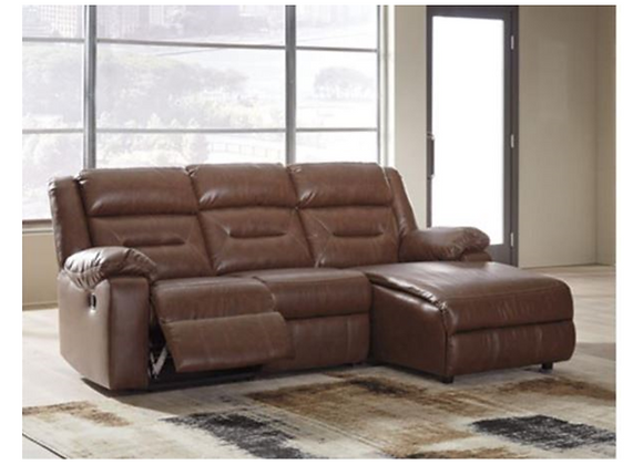Ashley Coahoma 3-Piece Reclining Sectional with Chaise