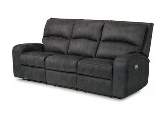 Flexsteel Rhapsody Power Reclining Sofa with Power Headrests
