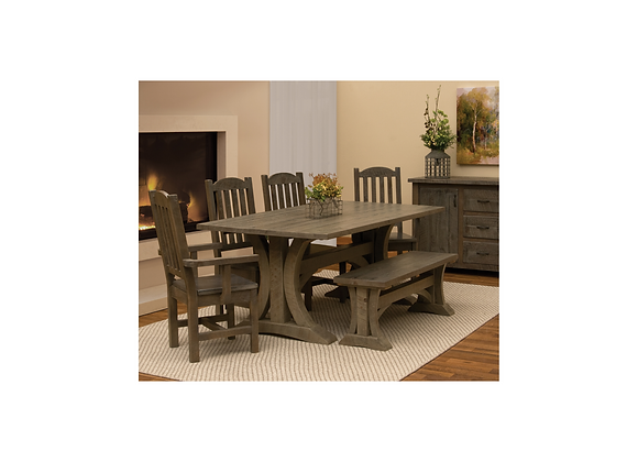 Fireside Frontier Prairie 6pc Dining Set